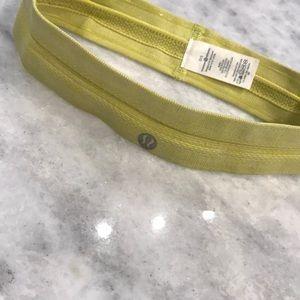 Lululemon Swiftly Headband Neon Yellow-ish